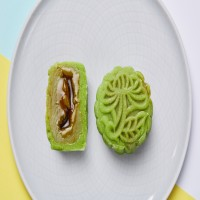 Premium Pandan Paste w Gula Melaka Snowskin